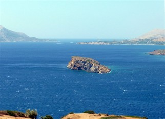 View of the Aegean from Cape Sounion