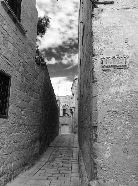 Medieval Street, Mdina, Malta